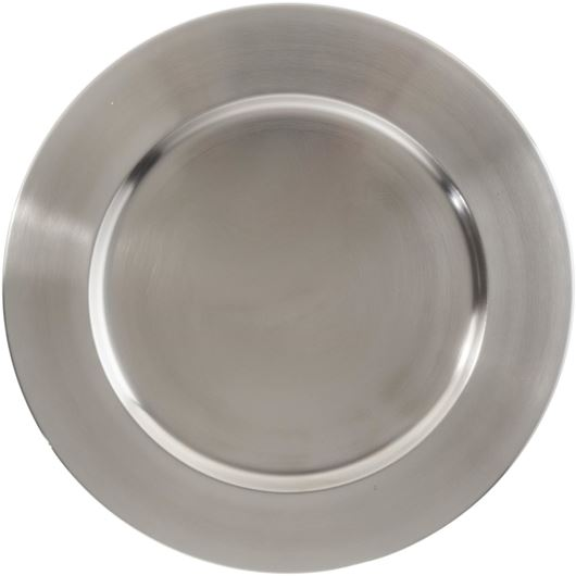 Picture of LASYA charger plate d35cm silver