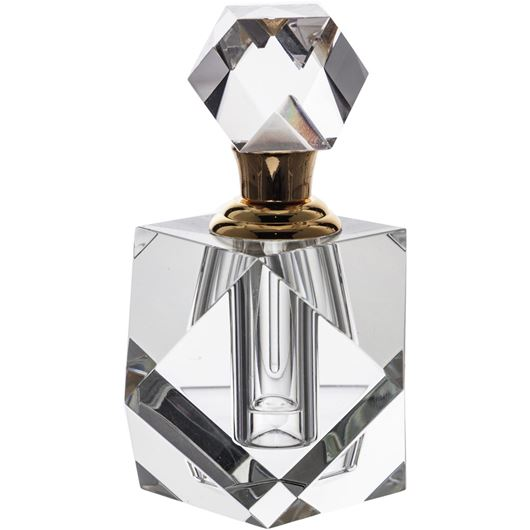 Picture of EVELY perfume bottle h11cm clear