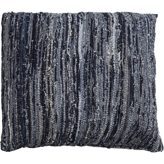 Picture of DENIM floor cushion 80x80 blue