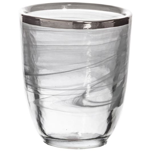 Picture of IMANA tumbler h10cm white