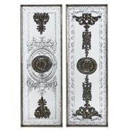 Picture of HARU wall decoration 122x41 set of 2 black