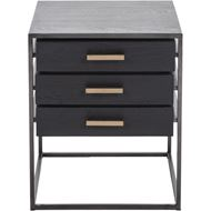 Picture of BRITE side table 50x50 black