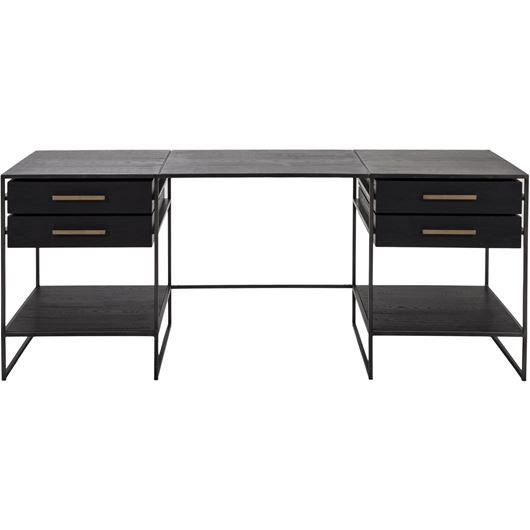 Picture of BRITE desk 200x75 black