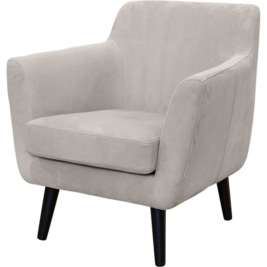 Picture of DAGMAR armchair leather beige