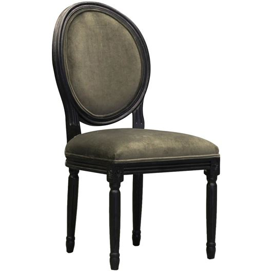 Picture of PARDON dining chair grey/black