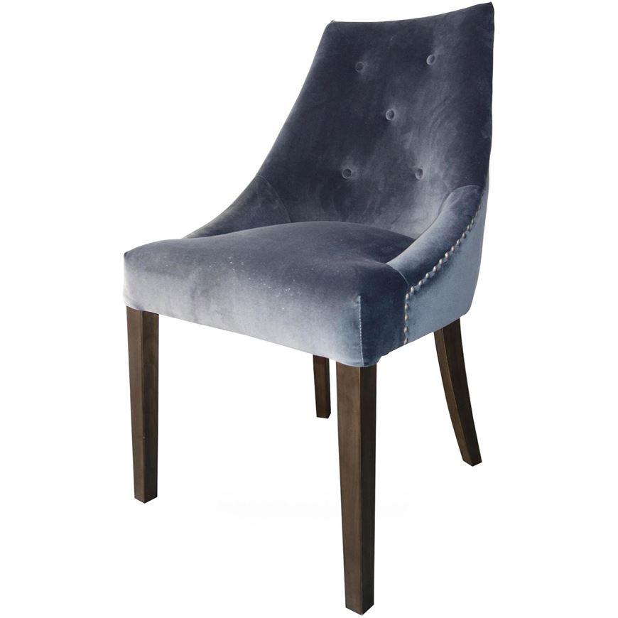 Picture of GRINGO dining chair dark grey/grey brown