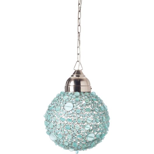 Picture of BATASHA pendant lamp d30cm blue
