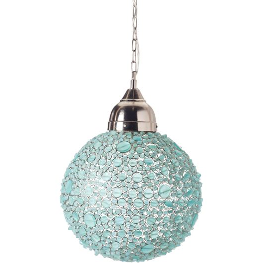 Picture of BATASHA pendant lamp d43cm blue