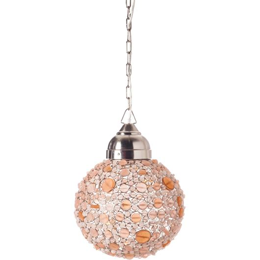 Picture of BATASHA pendant lamp d30cm pink