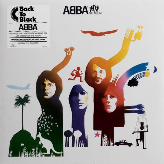Picture of ABBA THE ALBUM vinyl
