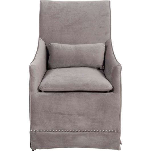 Picture of TWIST dining armchair silver/black