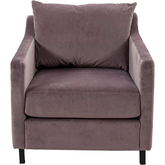 Picture of ISO armchair microfibre light brown