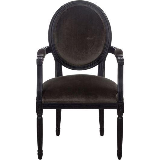 Picture of PARDON dining armchair grey/black