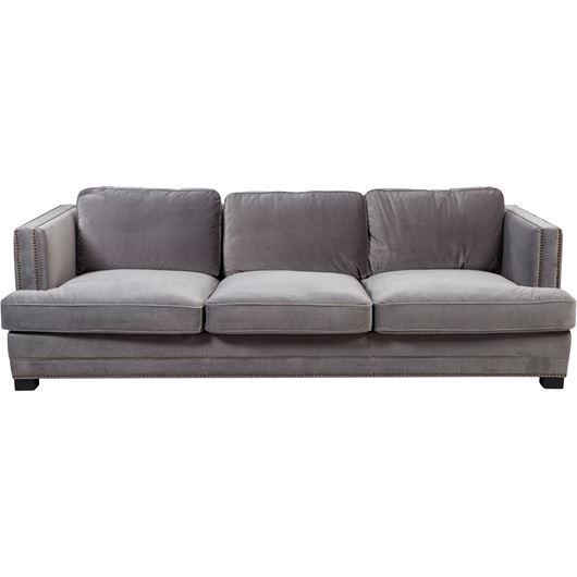 Picture of ASTEN II sofa 4 microfibre grey