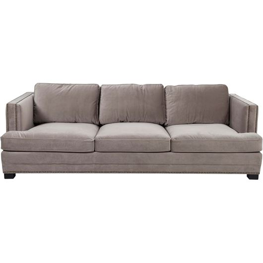 Picture of ASTEN II sofa 4 microfibre taupe