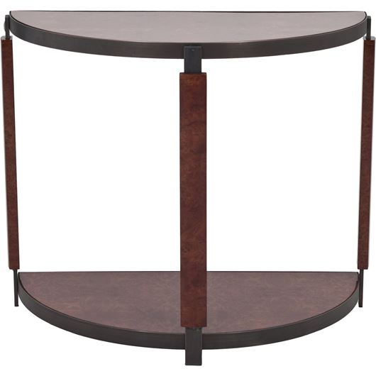 Picture of CHAPLIN moon console 90x45 brown