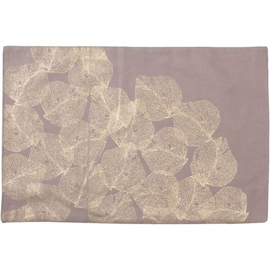 Picture of AMBER place mat 33x48 gold