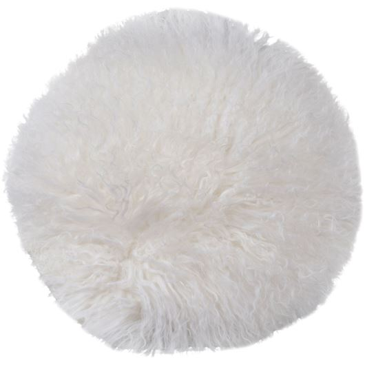 Picture of XIA cushion d40cm white