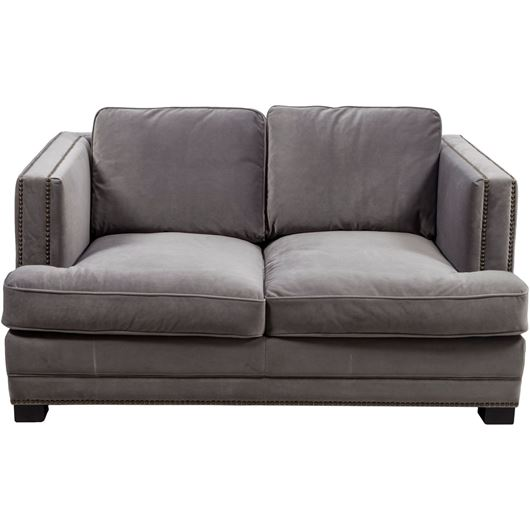 Picture of ASTEN sofa 2 microfibre grey