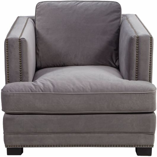 Picture of ASTEN chair microfibre grey