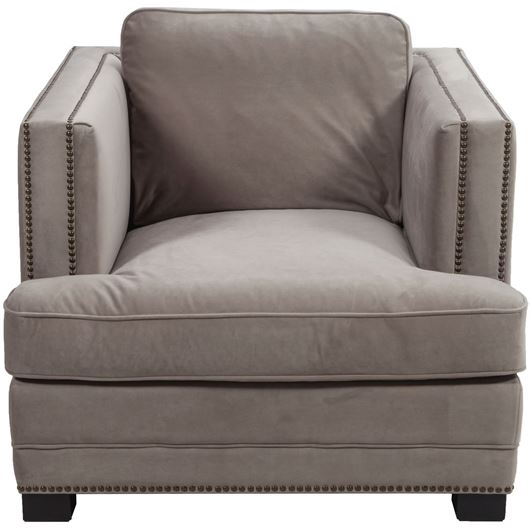 Picture of ASTEN chair microfibre taupe