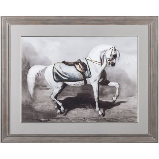 Picture of Framed Print Horse I 107x87 dark grey