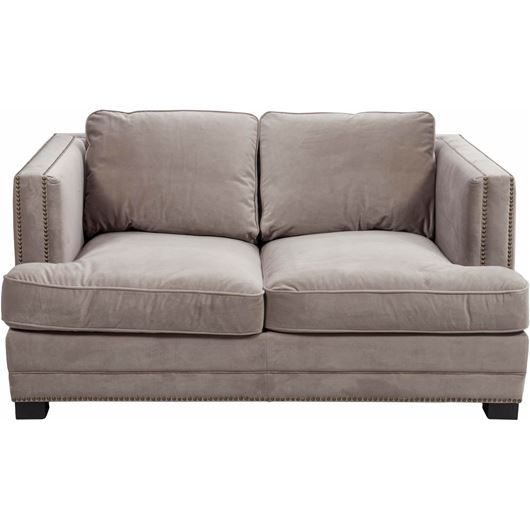 Picture of ASTEN sofa 2 microfibre taupe