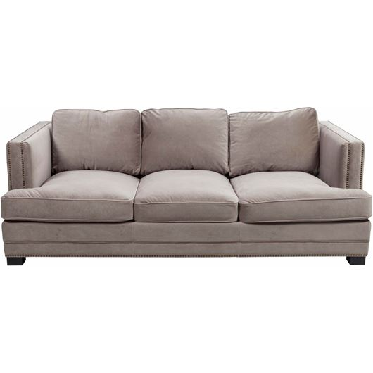 Picture of ASTEN sofa 3 microfibre taupe