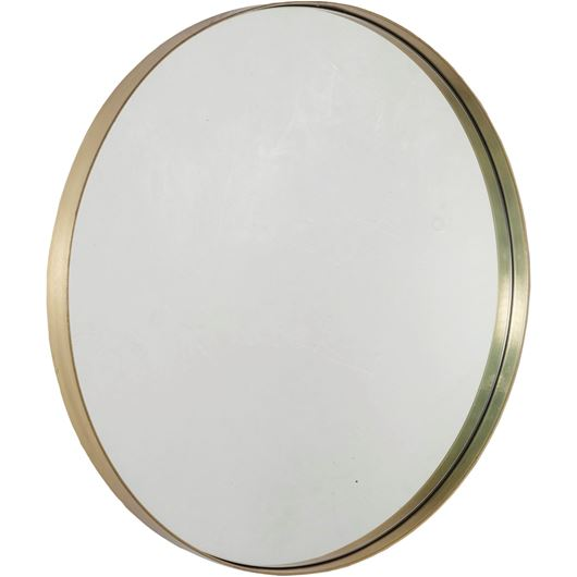 Picture of AVIAN mirror d76cm brass