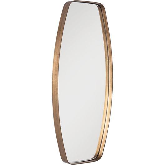 Picture of LIA mirror 25x56 brass