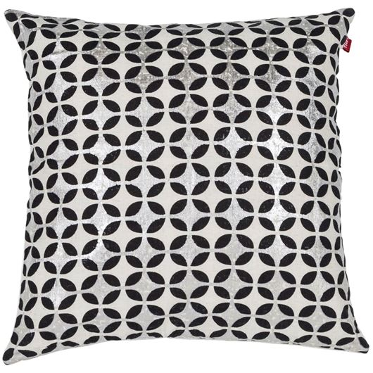 Picture of PRACHI cushion cover 50x50 natural/black