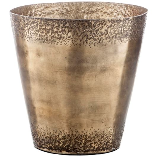 Picture of ROMAN planter h25cm brass