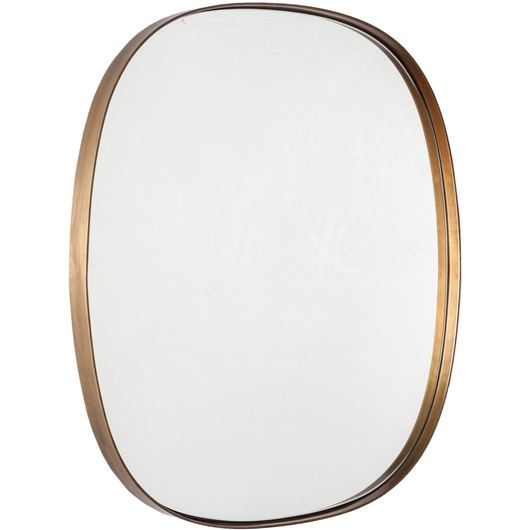 Picture of SIA mirror 50x56 brass