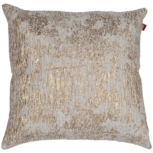 Picture of YASMIN cushion cover 45x45 natural/gold