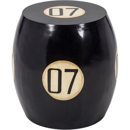 Picture of BOND side table 45x45 black
