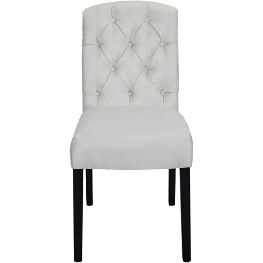 Picture of GYPSY dining chair white/black