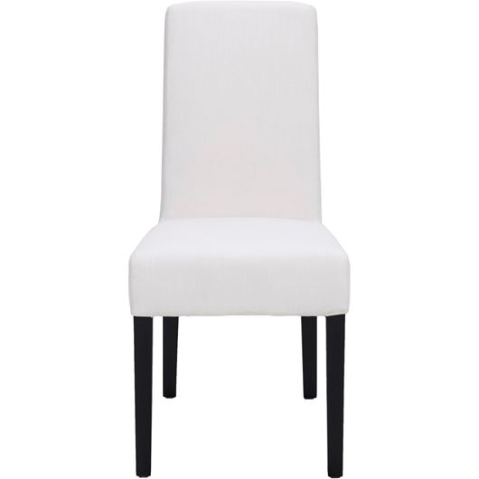 Picture of REBECA dining chair white/black