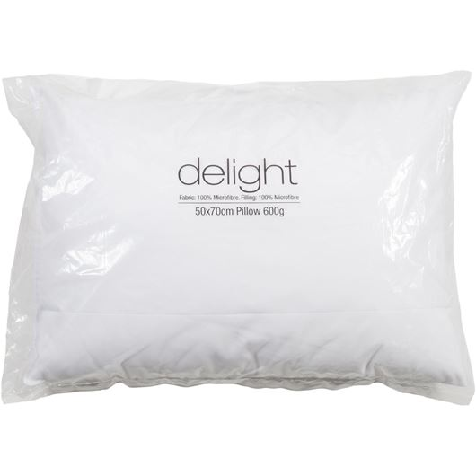Picture of DELIGHT pillow 50x70 600g white