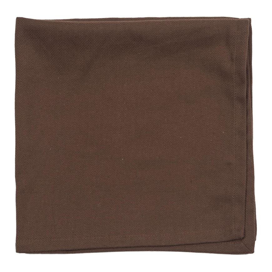 Picture of HERRING napkin 50x50 brown