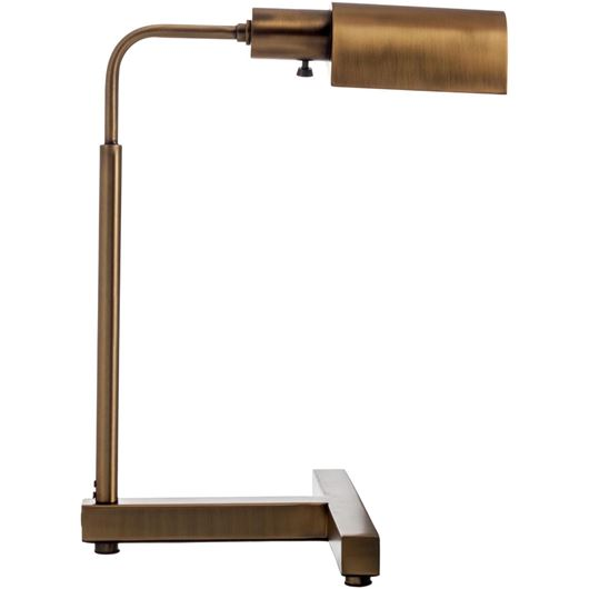 Picture of HELMA table lamp h45cm brass
