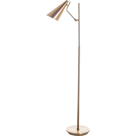 Picture of HELLA floor lamp h150cm brass