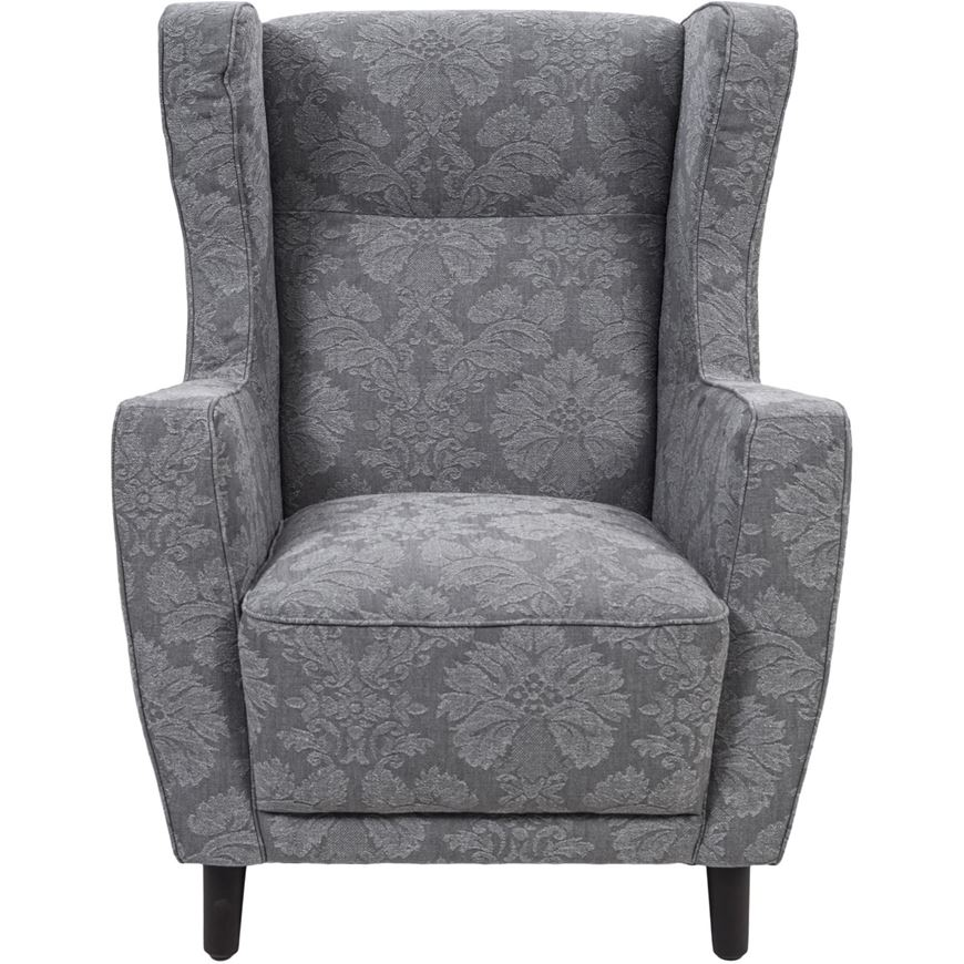 Picture Of PIERRE Wing Chair Grey