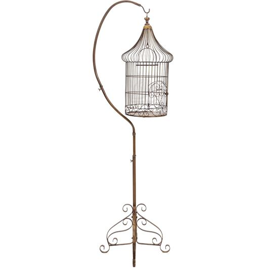 Picture of EMERY bird cage h207cm gold