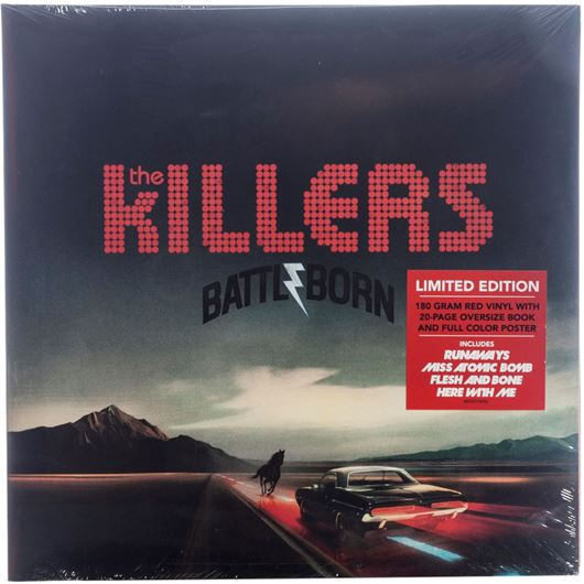 Picture of BATTLE BORN vinyl