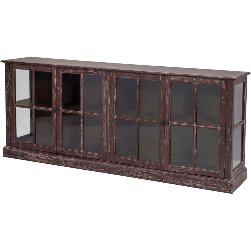 Picture of LINO sideboard 90x220 dark brown