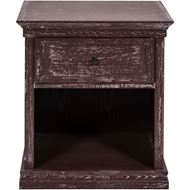 Picture of MAZO bedside table dark brown