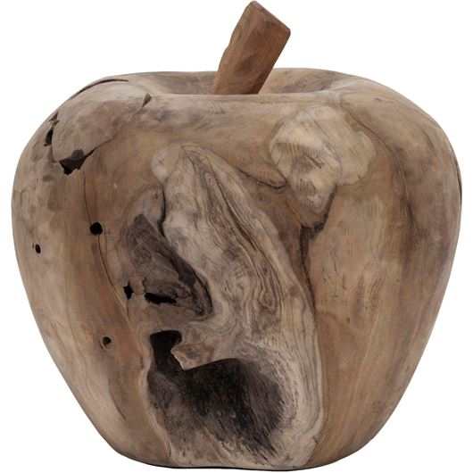 Picture of MELROSE apple decoration h28cm natural