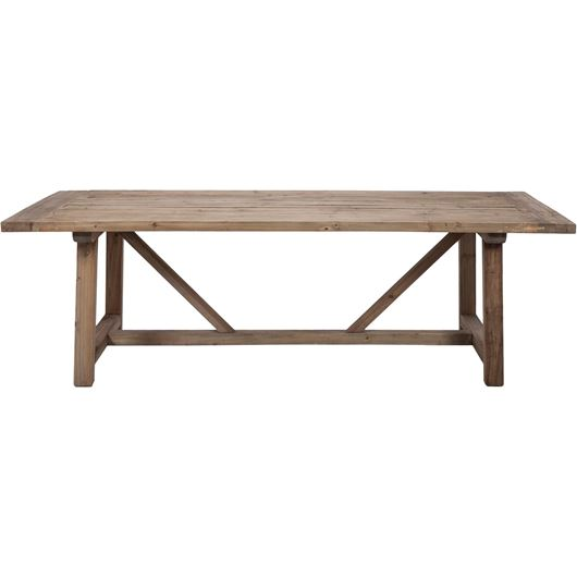 Picture of TREVA dining table 240x100 brown