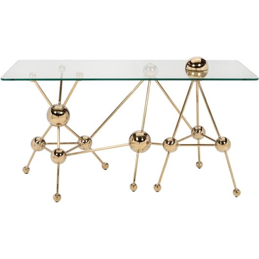 Picture of LAXI console 150x60 clear/gold