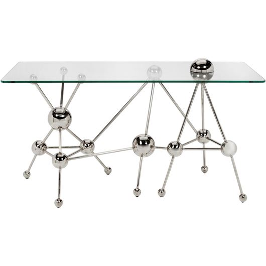 Picture of LAXI console 150x60 clear/stainless steel